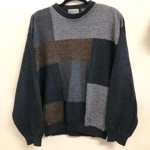 Grandpa Colorblock Sweater